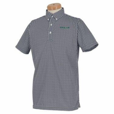 グリーンデザインズ GREEN DESIGNS メンズ 千鳥格子柄 半袖 ボタンダウン ポロシャツ 0SS-GDS1 2020年モデル 商品詳細3