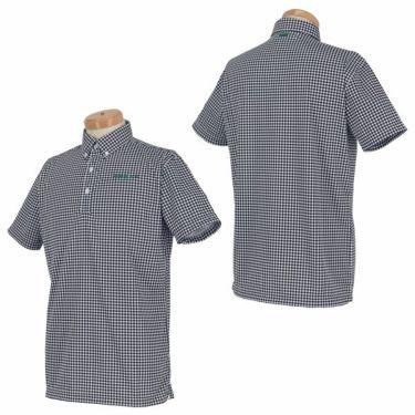 グリーンデザインズ GREEN DESIGNS メンズ 千鳥格子柄 半袖 ボタンダウン ポロシャツ 0SS-GDS1 2020年モデル 商品詳細5