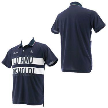 ルコック Le coq sportif メンズ ワッフル生地 カラーブロック 半袖 ポロシャツ QGMPJA02 2020年モデル 商品詳細8