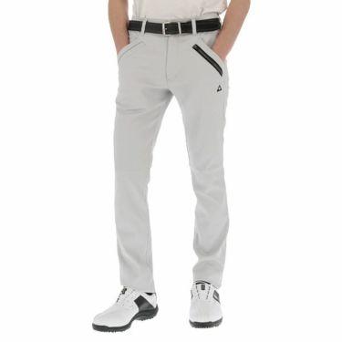 ルコック Le coq sportif メンズ ストレッチ テーパード ロングパンツ QGMPJD02 2020年モデル [裾上げ対応1●] ライトグレー(GY00)