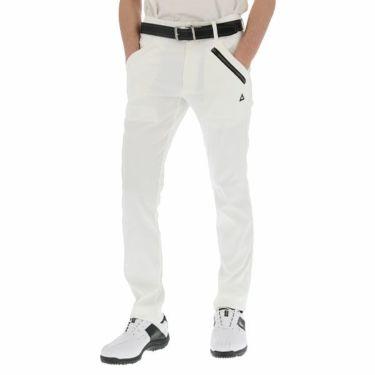 ルコック Le coq sportif メンズ ストレッチ テーパード ロングパンツ QGMPJD02 2020年モデル [裾上げ対応1●] ホワイト(WH00)