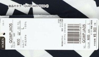 ルコック Le coq sportif レディース 鹿の子 ロゴ刺繍 総柄プリント 半袖 ポロシャツ QGWPJA05 2020年モデル 詳細5