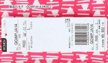 【ss特価】△ルコック Le coq sportif レディース 総柄 フラッグプリント 半袖 ボタンダウン ポロシャツ QGWPJA14 2020年モデル 詳細5