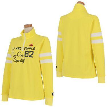 ルコック Le coq sportif レディース プリントデザイン 袖ライン 長袖 ハーフジップシャツ QGWPJB02 2020年モデル 商品詳細8
