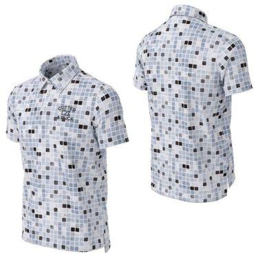 カッター&バック CUTTER&BUCK メンズ ロゴ刺繍 ブロック柄 半袖 ボタンダウン ポロシャツ CGMPJA36 2020年モデル 詳細3