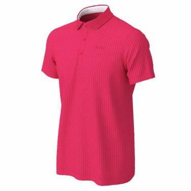 【ss特価】△スリクソン SRIXON メンズ ロゴ刺繍 ニットサッカー生地 半袖 ポロシャツ RGMPJA21 2020年モデル ピンク(PK00)