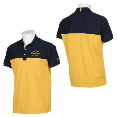 【ss特価】△マンシングウェア Munsingwear メンズ バイカラー 半袖 ポロシャツ MGMPJA14 2020年モデル 詳細3