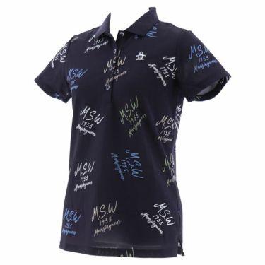 【ss特価】△マンシングウェア Munsingwear レディース 飛び柄 半袖 ポロシャツ MGWPJA07 2020年モデル 詳細2