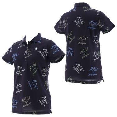 【ss特価】△マンシングウェア Munsingwear レディース 飛び柄 半袖 ポロシャツ MGWPJA07 2020年モデル 詳細7