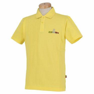 オロビアンコ Orobianco メンズ ロゴ刺繍 半袖 ポロシャツ 43575-163 2020年モデル イエロー(30)