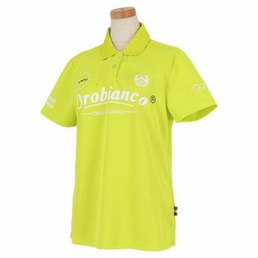 オロビアンコ Orobianco レディース ロゴプリント 半袖 ポロシャツ 46575-254 2020年モデル ライム(42)