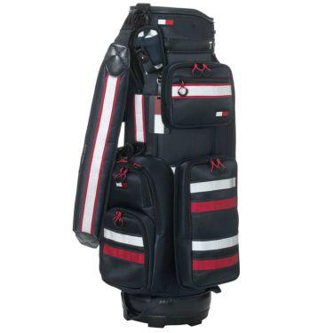 トミー ヒルフィガー ゴルフ ストライプ キャディバッグ THMG0SC5 30 ネイビー 2020年モデル