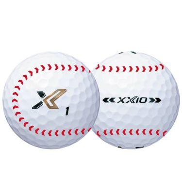 ダンロップ ゼクシオ エックス XXIO X-eks- セ・リーグ コラボレーション 東京ヤクルトスワローズ ゴルフボール 1箱(6球入り) 2020年モデル 商品詳細3