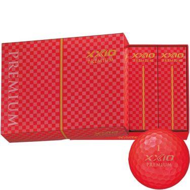 ダンロップ XXIO PREMIUM ゼクシオ プレミアム 2020年モデル ゴルフボール ロイヤルレッド 1ダース(12球入り)