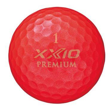ダンロップ XXIO PREMIUM ゼクシオ プレミアム 2020年モデル ゴルフボール ロイヤルレッド 1ダース(12球入り) 商品詳細2