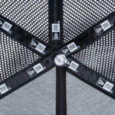 ニューエラ NEW ERA メッシュ キャップ 9FORTY A-frame トラッカー ハンターラインカモ New Era ロゴ 12325970 ブラック 商品詳細5