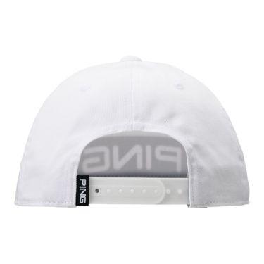 ピン PING メンズ CANDY BAR CAP キャンディバーキャップ HW-U204 35341-01 White 2020年モデル 商品詳細2