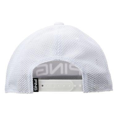 ピン PING メンズ CANDY BAR MESH CAP キャンディバーメッシュキャップ HW-U206 35343-01 White 2020年モデル 商品詳細2