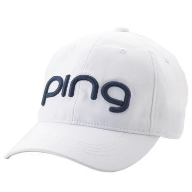 ピン PING レディース LADIES TOUR CAP ツアー キャップ HW-L201 35346-01 White 2020年モデル