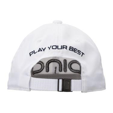 ピン PING レディース LADIES TOUR CAP ツアー キャップ HW-L201 35346-01 White 2020年モデル 商品詳細2