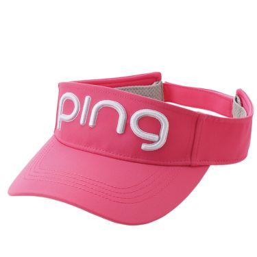 ピン PING レディース LADIES TOUR VISOR ツアー バイザー HW-L202 35347-03 Pink 2020年モデル