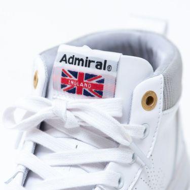 アドミラル Admiral MARHAM-MID ユニセックス スパイクレス ゴルフシューズ ADMS9F 00 ホワイト 商品詳細5