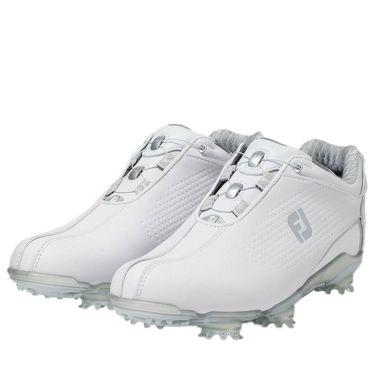 フットジョイ FootJoy ドライジョイズ ボア レディース ソフトスパイク ゴルフシューズ 99073 ホワイト 2020年モデル ホワイト(99073)