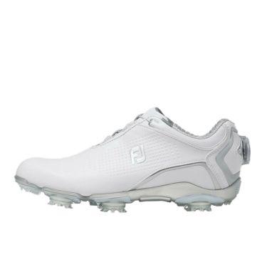 フットジョイ FootJoy ドライジョイズ ボア レディース ソフトスパイク ゴルフシューズ 99073 ホワイト 2020年モデル 詳細1