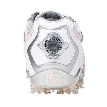 フットジョイ FootJoy ドライジョイズ ボア レディース ソフトスパイク ゴルフシューズ 99074 ホワイト+ピンク 2020年モデル 詳細2