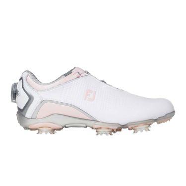 フットジョイ FootJoy ドライジョイズ ボア レディース ソフトスパイク ゴルフシューズ 99074 ホワイト+ピンク 2020年モデル 詳細6