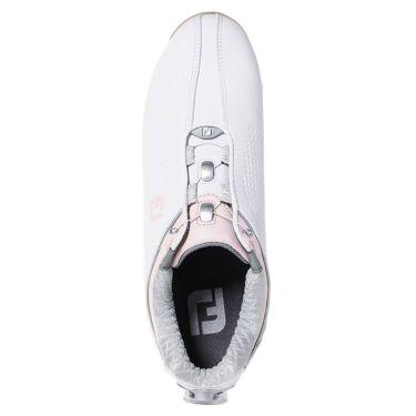フットジョイ FootJoy ドライジョイズ ボア レディース ソフトスパイク ゴルフシューズ 99074 ホワイト+ピンク 2020年モデル 詳細7
