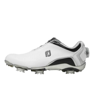 フットジョイ FootJoy ドライジョイズ ボア レディース ソフトスパイク ゴルフシューズ 99075 ホワイト+ブラック 2020年モデル 詳細1