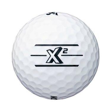 スリクソン SRIXON X2 エックスツー ゴルフボール 1ダース(12球入り) ホワイト 2020年モデル 詳細3