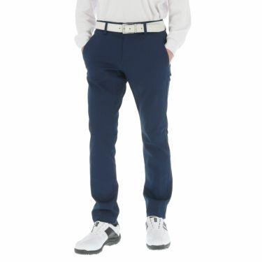 アディダス adidas メンズ EX STRETCH ヘリンボーン柄 テーパード ロングパンツ FYO75 2019年モデル [裾上げ対応1●] カレッジネイビー(EH3726)