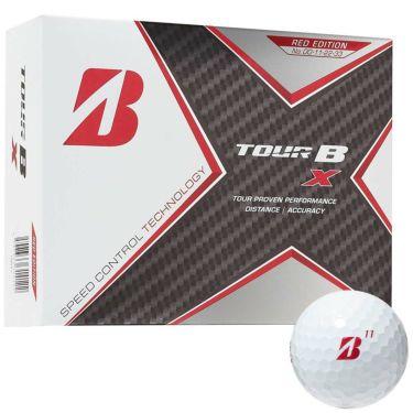 ブリヂストン TOUR B X ツアーB エックス レッドエディション 2020年モデル ゴルフボール 1ダース(12球入り)