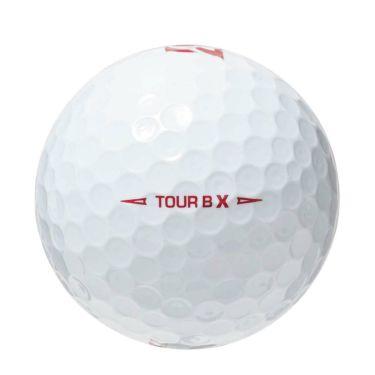 ブリヂストン TOUR B X ツアーB エックス レッドエディション 2020年モデル ゴルフボール 1ダース(12球入り) 商品詳細2