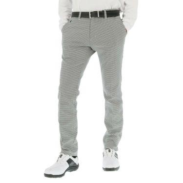 タイトリスト Titleist メンズ ガンクラブチェック ストレッチ ロングパンツ TWMP1981 2019年モデル [裾上げ対応1] ブラック(BK)