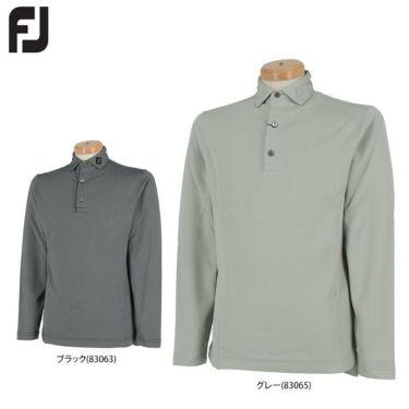 フットジョイ メンズ 長袖 ポロシャツ FJ-F19-S17 (2019)