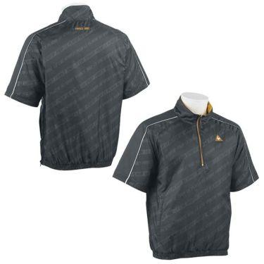 ルコック Le coq sportif メンズ 中綿 総柄 半袖 ハーフジップ ブルゾン QGMOJK51 2019年モデル 詳細3