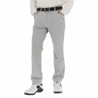 ルコック Le coq sportif メンズ 生地切替 ストレッチ テーパード ロングパンツ QGMOJD07 2019年モデル [裾上げ対応1●] グレー(GY00)
