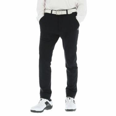 ルコック Le coq sportif メンズ 裏起毛 ストレッチ テーパード ロングパンツ QGMOJD09 2019年モデル [裾上げ対応1●] ブラック(BK00)