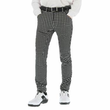 ルコック Le coq sportif メンズ ギンガムチェック柄 ストレッチ テーパード ロングパンツ QGMOJD10 2019年モデル [裾上げ対応1●] ホワイト(WH00)