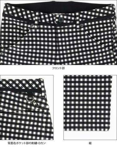 ルコック Le coq sportif メンズ ギンガムチェック柄 ストレッチ テーパード ロングパンツ QGMOJD10 2019年モデル [裾上げ対応1●] 詳細5
