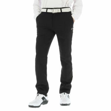 ルコック Le coq sportif メンズ ストレッチ ロングパンツ QGMOJD11 [裾上げ対応1●] ブラック(BK00)