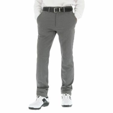 ルコック Le coq sportif メンズ ストレッチ ロングパンツ QGMOJD11 [裾上げ対応1●] チャコール(BK01)