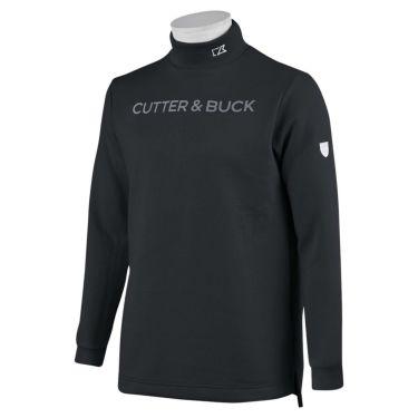 カッター&バック CUTTER&BUCK メンズ ロゴプリント 長袖 ハイネックシャツ CGMOJB10 2019年モデル ブラック(BK00)