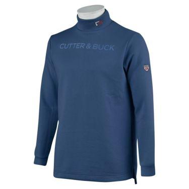 カッター&バック CUTTER&BUCK メンズ ロゴプリント 長袖 ハイネックシャツ CGMOJB10 2019年モデル ネイビー(NV00)