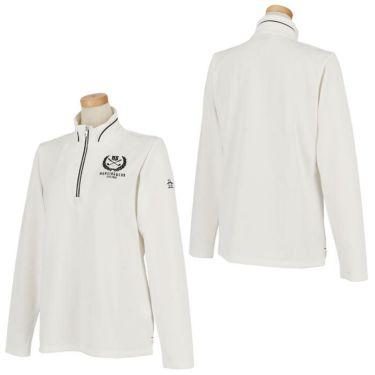 マンシングウェア Munsingwear レディース 星柄 ジャカード 長袖 ハーフジップシャツ MGWOJB09 2019年モデル 詳細3
