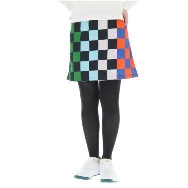 マンシングウェア Munsingwear レディース ブロックプリント 撥水 ストレッチ スカート MGWOGE03 2019年モデル ネイビー(NV00)