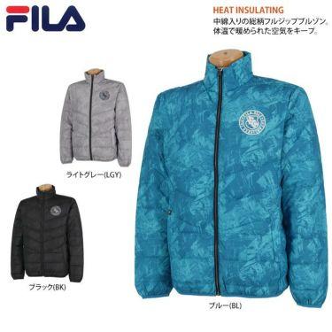 フィラ FILA メンズ 総柄 長袖 フルジップ ダウンジャケット 789-202 2019年モデル 詳細2